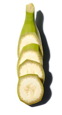 有機綠香蕉